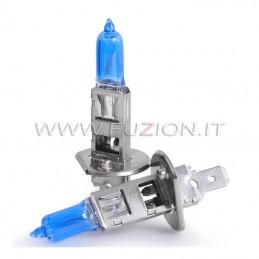 H1 12V 15/55W ALOGENE SUPER WHITE PRO+ EFFETTO XENON HID FUZION