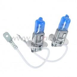 H3 12V 15/55W ALOGENE SUPER WHITE PRO+ EFFETTO XENON HID FUZION