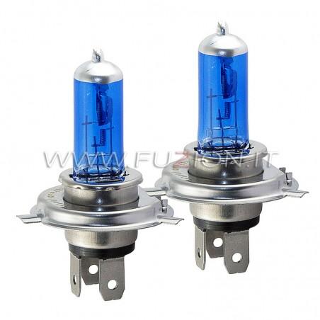 H4 12V 60/55W ALOGENE SUPER WHITE PRO+ EFFETTO XENON HID FUZION
