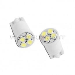 LAMPADE T10 W5W 4 LED SMD...