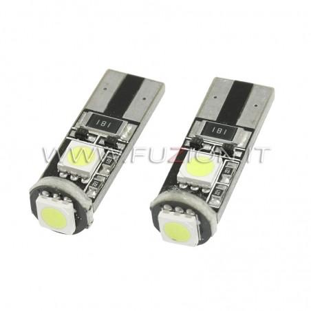 LAMPADE T10 W5W 3 LED CANBUS FUZION