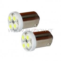 LAMPADE BA9S H5W 4 LED SMD...