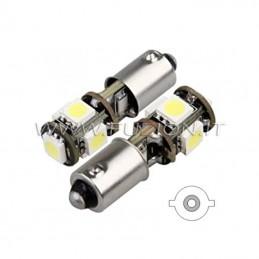 LAMPADE BA9S H5W H20W 5 LED...