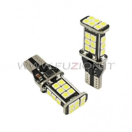 LAMPADE T15 W16W W21W 24 LED 12-24V CANBUS FUZION