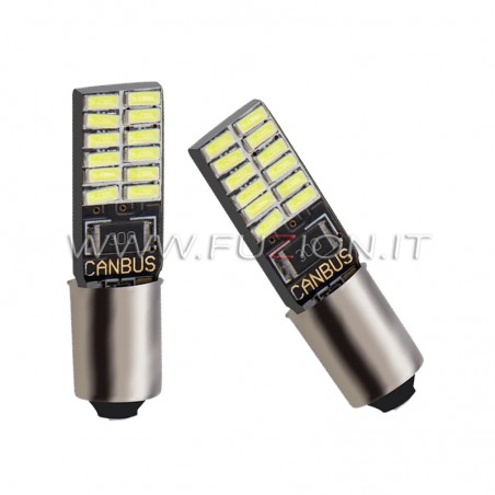 LAMPADE H21W BAY9S 24 LED 12-24V CANBUS FUZION