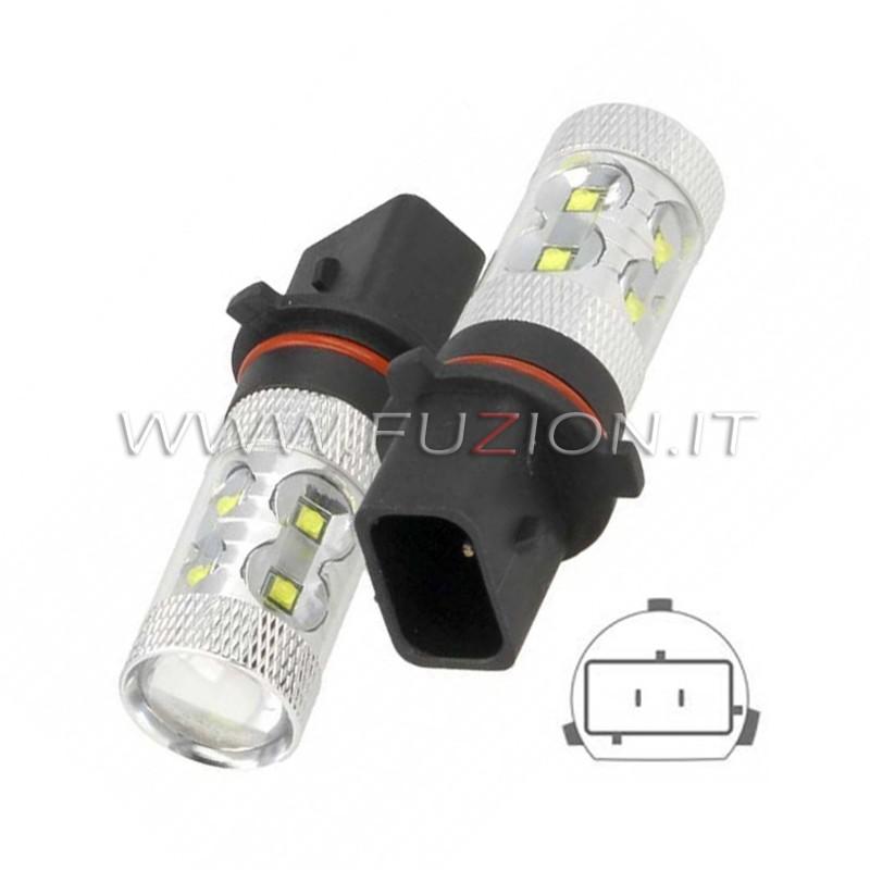 C//LAMPADE A LED CON 18 SMD ATTACCO 3157 DI TIPO W21//5W