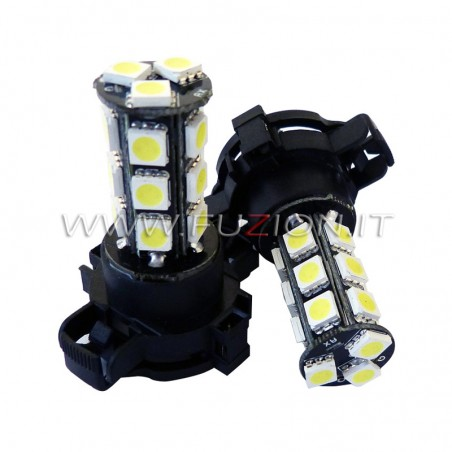 LAMPADE PY24W PGU20/4 18 LED CANBUS FUZION