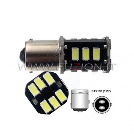 LAMPADE P21/5W 1157 18 LED CANBUS FUZION