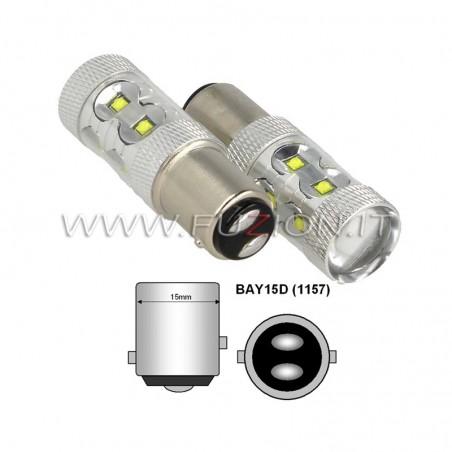 LAMPADE P21/5W 1157 50W LED CANBUS FUZION
