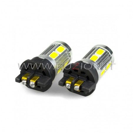LAMPADE PW24W PWY24W 10 LED 50W CANBUS FUZION