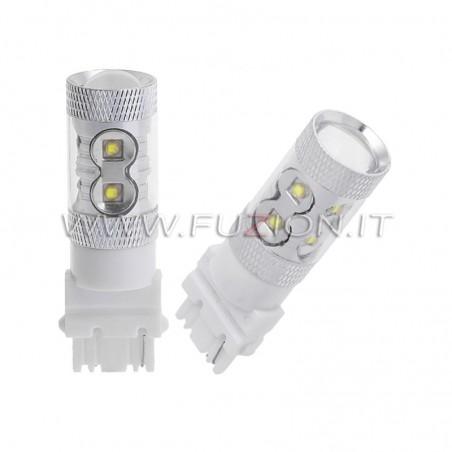 LAMPADE 3156 T25 P27W 50W LED CANBUS FUZION