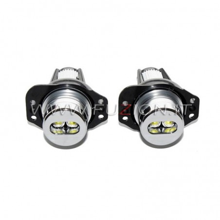 SERIE 3 E90 E91 6W LAMPADE LED BMW ANGEL EYES FUZION