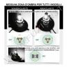 H9 KIT LED MOTO 4800 LUMEN CANBUS ALTA QUALITA' FUZION