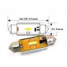 LAMPADE SILURO C5W C10W PLAFONIERA TARGA 1 LED CANBUS  PRO POWER FUZION