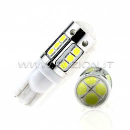 LAMPADE T10 W5W 16 LED NEW CANBUS PRO POWER FUZION
