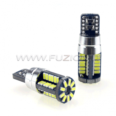 LAMPADE T10 W5W 57 LED NEW CANBUS PRO POWER FUZION