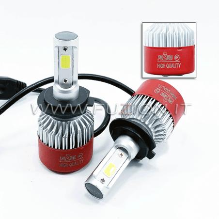 H7 24V KIT LED 9600 LUMEN CANBUS ALTA QUALITA' FUZION