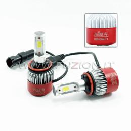 H9 24V KIT LED 9600 LUMEN CANBUS ALTA QUALITA' FUZION